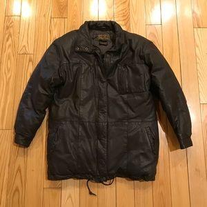 Vintage Eddie Bauer Leather Jacket women's